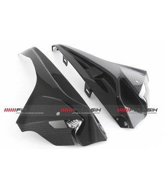 Fullsix BMW S1000RR carbon zijpaneel covers 2015-2018