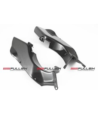 Fullsix MV Agusta F3 carbon fibre air tube covers