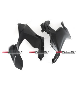 Fullsix Ducati V4 carbon fibre side panels