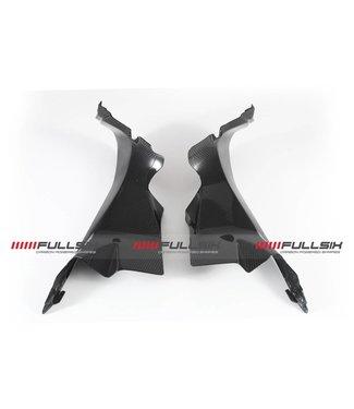 Fullsix Ducati 899/959/1199/1299 carbon fibre upper fairing inner panels