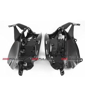 Fullsix Ducati 899/959/1199/1299 carbon fibre electronics holders
