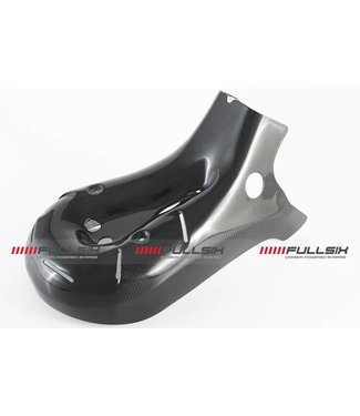 Fullsix Ducati 899/1199 carbon fibre exhaust heat shield