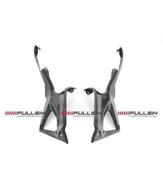 Fullsix Ducati 848/1098/1198 carbon tank panelen