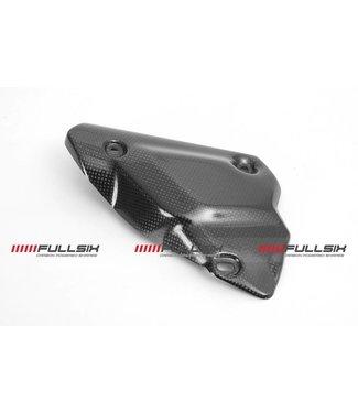 Fullsix Ducati 848/1098/1198 carbon fibre exhaust heat shield