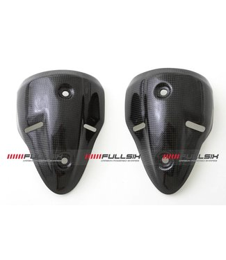Fullsix Ducati Monster 696/796/1100 carbon fibre exhaust silencer cover