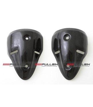 Fullsix Ducati Monster 696/796/1100 carbon uitlaatbeschermer demper