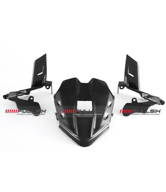 Fullsix Ducati V4 carbon fibre dashboard cover