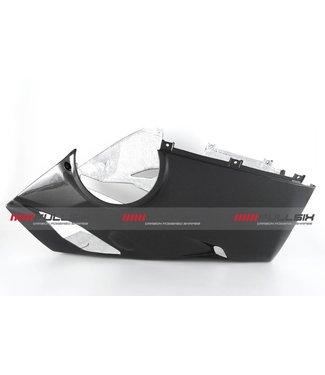 Fullsix Ducati V4 carbon fibre bellypan Akrapovic exhaust race
