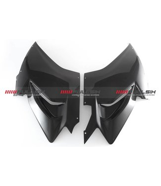 Fullsix Ducati V4 carbon fibre side panels race