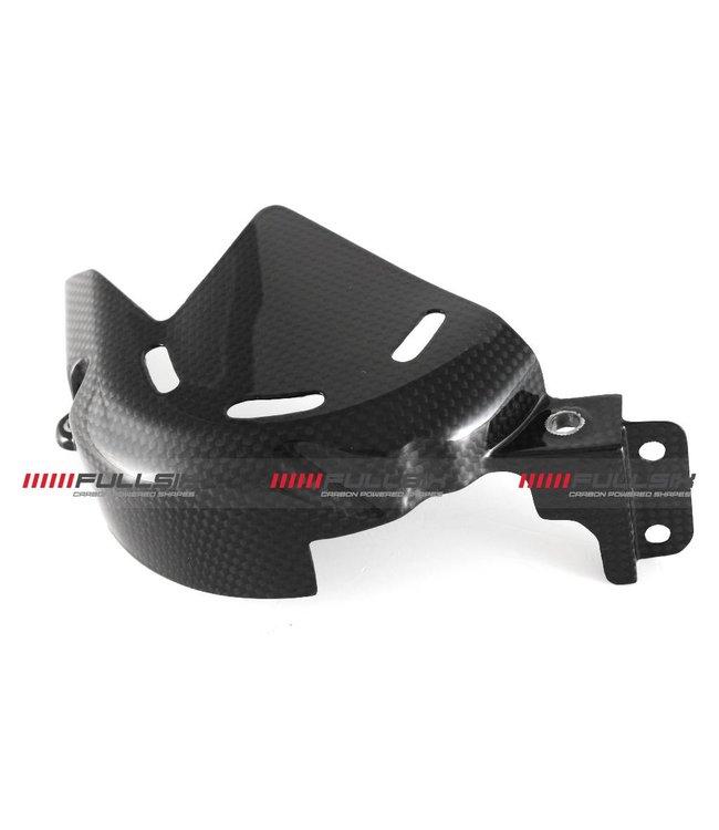 Fullsix Ducati V4 carbon fibre sprocket cover