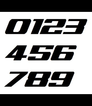Afix Moto Racing number decals style 1