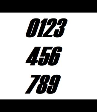 Afix Moto Racing number decals style 3