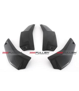 Fullsix Ducati V4 Streetfighter carbon fibre radiator covers