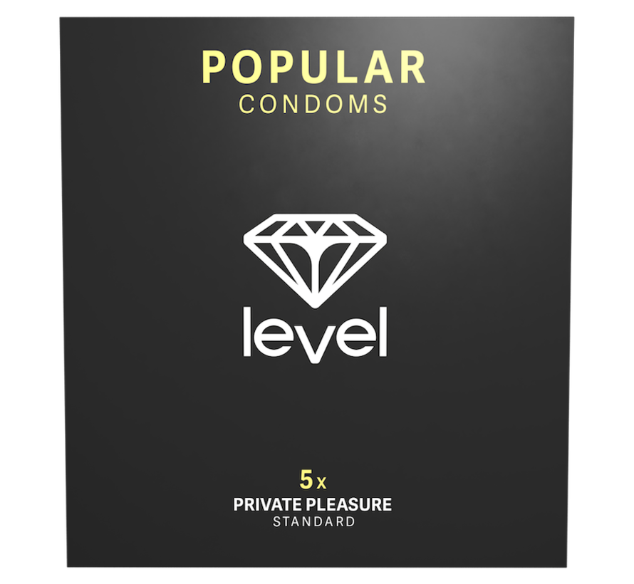 Level Popular Kondome - 5 stück