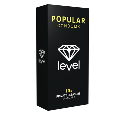 Level Level Popular Condooms 10 stuks