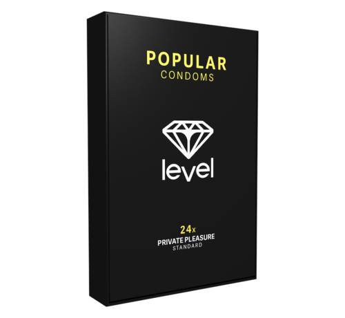 Level Level Popular - Condoms - 24 pack