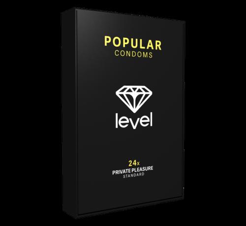 Level Level Popular Condooms 24 stuks