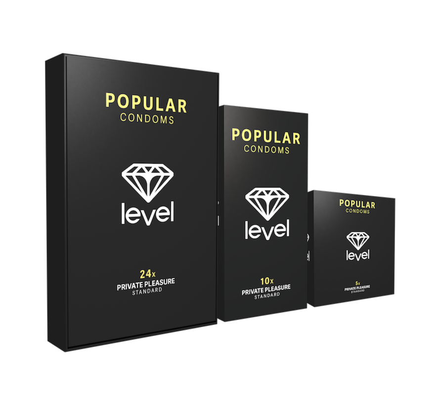 Level Popular - Condoms - 24 pack