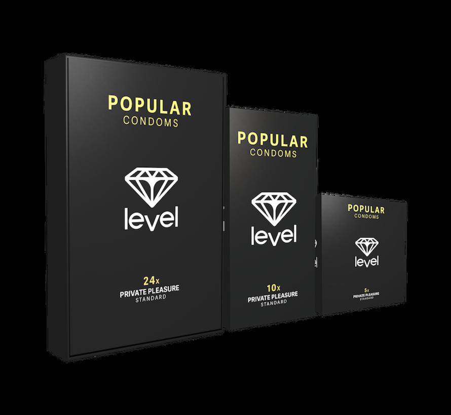 Level Popular Condooms 24 stuks