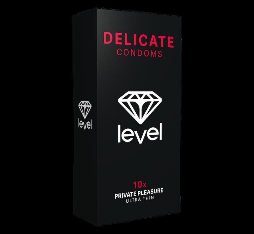 Level Delicate Condooms 10 stuks |  Ultra dunne condooms
