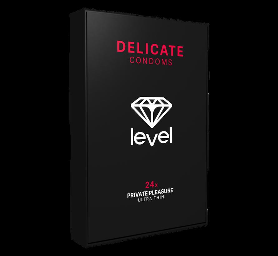 Level Delicate Condooms 24 stuks | Ultra dun condoom