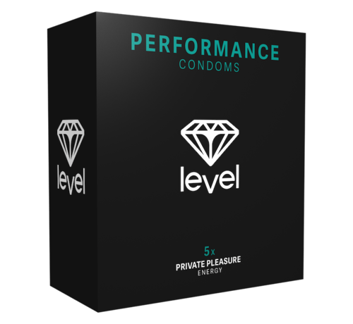 Level Level Performance - Condoms - 5 pack | Enjoy more and for longer