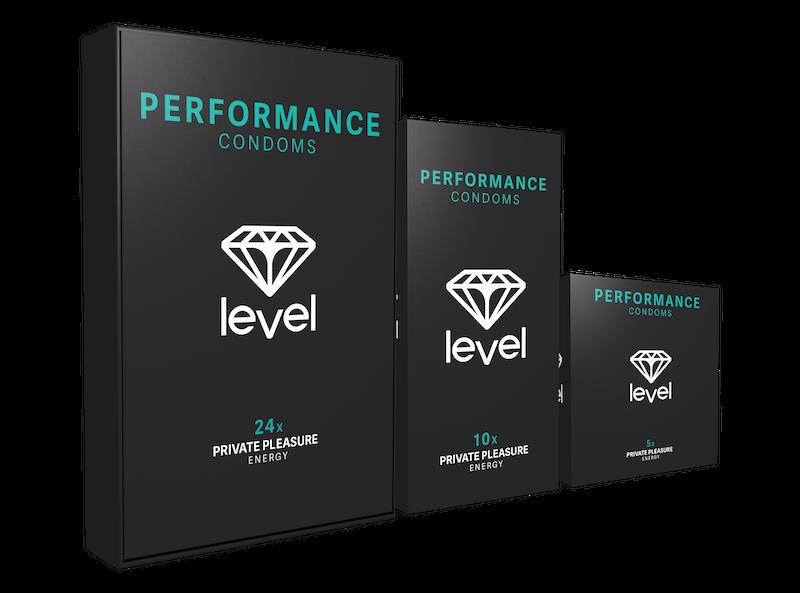 Level Performance Kondome - 10 stück | Höhepunkt Mannes