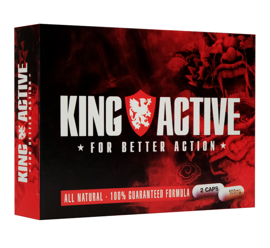 King Active - 80 capsules - Grootverpakking