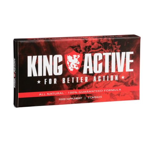 King Active King Active - 5 capsules - Erectie Stimulerend