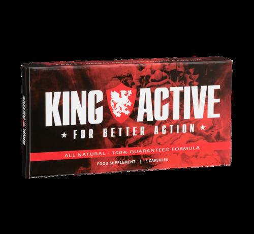 King Active King Active - 5 Kapseln - Potenzmittel