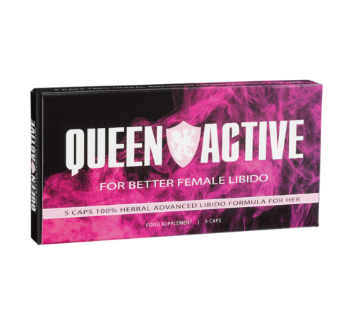 King Active Queen Active - 5 capsules - Female Libido