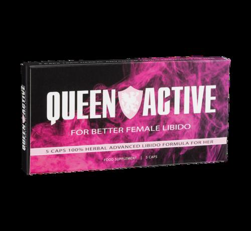 King Active Queen Active - 5 Kapseln - Libido Frau