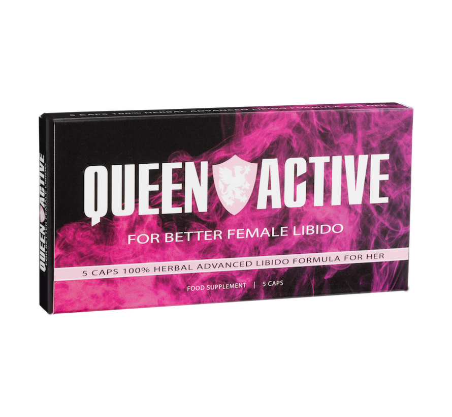 Queen Active - 5 capsules - Female Libido