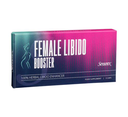 Senserex Female Libido Booster - 5 capsules - Libido Female