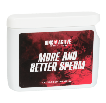 King Active More and Better Sperm - 60 caps