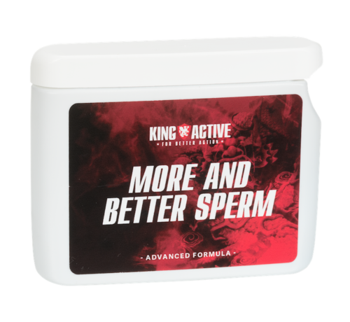 King Active More and Better Sperm - 60 capsules | More Sperm | Better Sperm