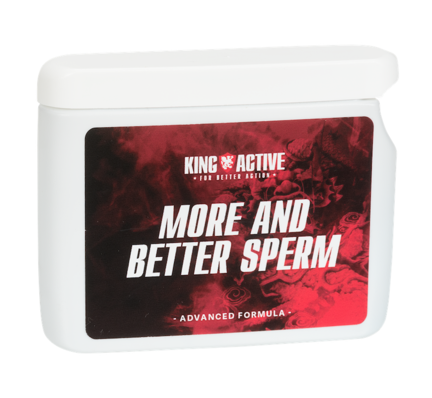 More and Better Sperm - 60 capsules | More Sperm | Better Sperm