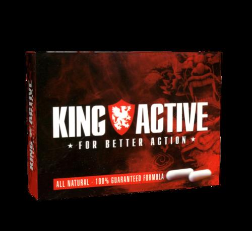 King Active King Active - 2 capules - Erectie stimulerend