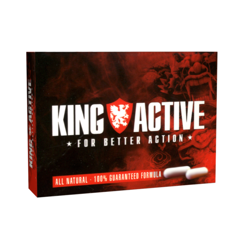King Active King Active - 2 capules - Erectile dysfunction