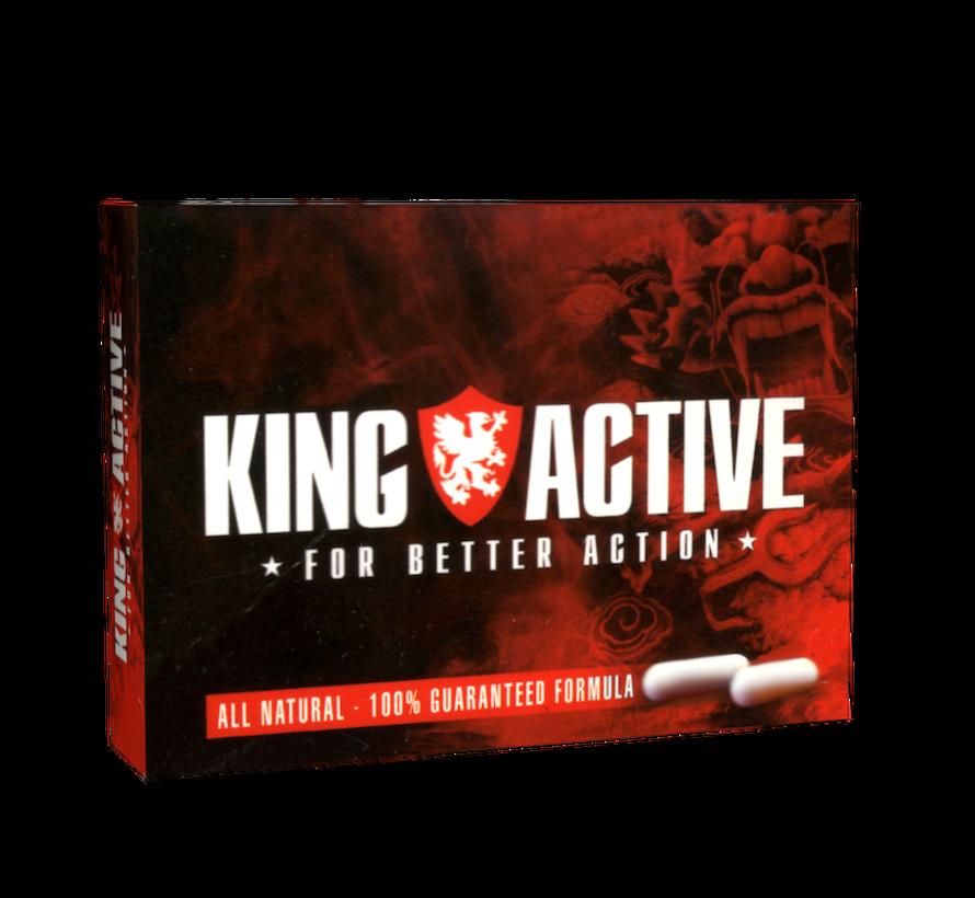 King Active - 2 Kapseln - Potenzmittel