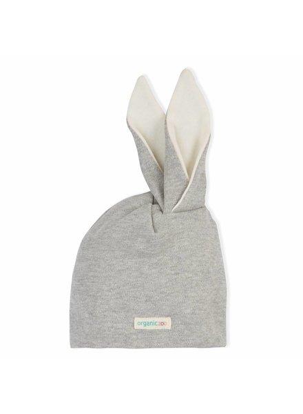 OrganicZoo mutsje grijs konijnenoren
