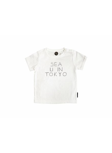 Sproet & Sprout t-shirt wit sea u in Tokyo
