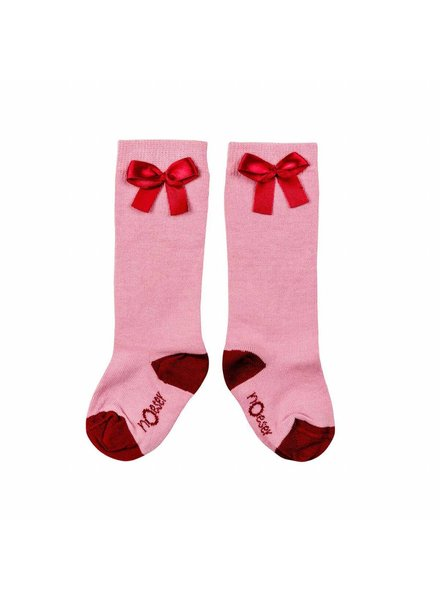 nOeser Socks bow pink