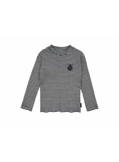 Sproet & Sprout Turtleneck longsleeve t-shirt Beetle Black Milk