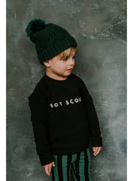 Sproet & Sprout Sweater boy scout zwart
