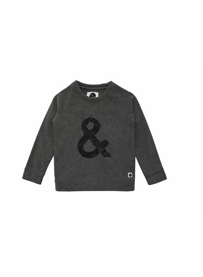 Sproet & Sprout Sweater & sign grijs