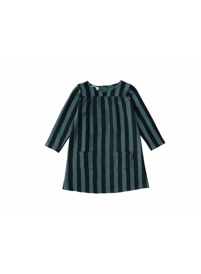 Sproet & Sprout Sweatdress Painted Stripe