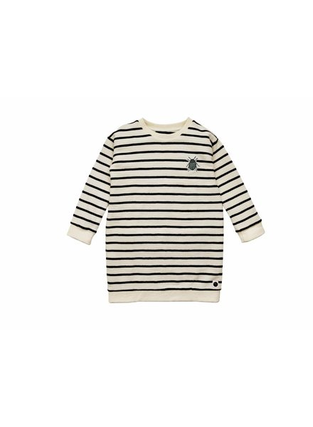 Sproet & Sprout Sweatdress Beetle Stripe