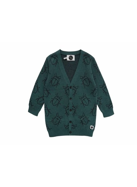 Sproet & Sprout Cardigan bugs allover