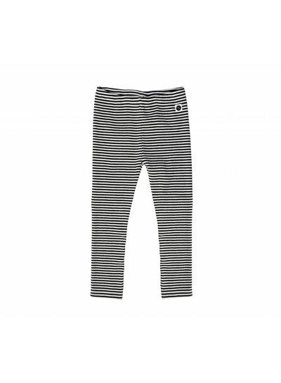 Sproet & Sprout Legging Black and Milk Stripe
